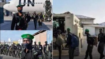 144 Nigerian Police Officers Arrives In Somalia To Help Them Fight Insecurity [Photos] 5
