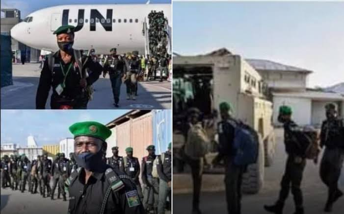 144 Nigerian Police Officers Arrives In Somalia To Help Them Fight Insecurity [Photos] 1