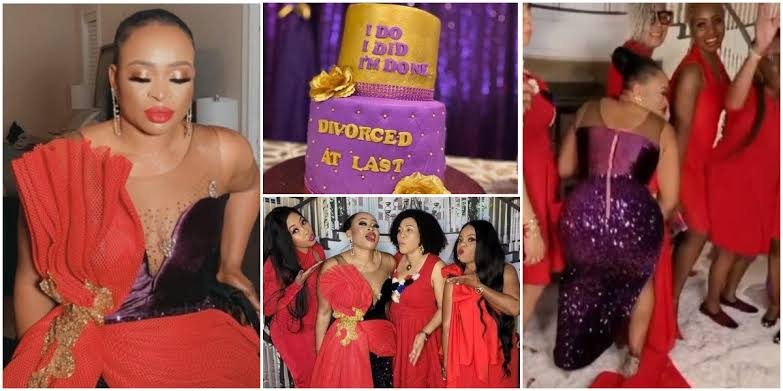 Nigerian Lady, Dr Ikea Bello Throws Lavish Party To Celebrate Her Divorce [Photos/Video] 1