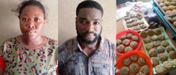 NDLEA Arrest Undergraduate And Her Boyfriend For Selling Drugged Cookies To School Children 24