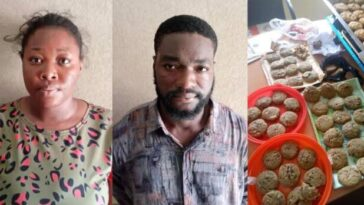 NDLEA Arrest Undergraduate And Her Boyfriend For Selling Drugged Cookies To School Children 8