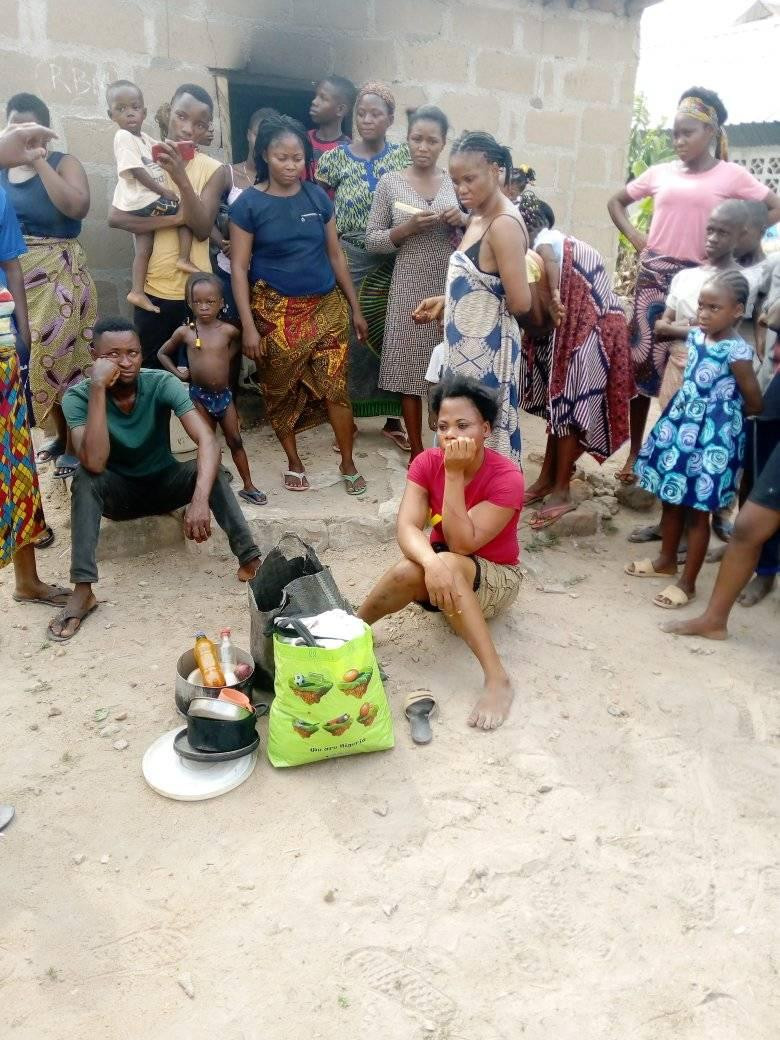 Woman Sets Her Boyfriend's House On Fire Over A LIttle Misunderstanding In Benue [Photos] 4