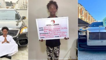 EFCC Arrests Popular Instagram Comedian, Pankeeroy For Alleged Internet Fraud In Lagos 2