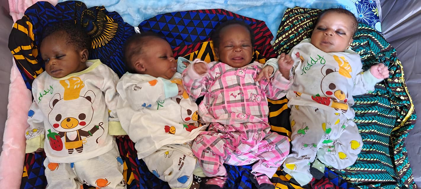 Anambra Couple Welcomes Quadruplets After 16 Years Marriage And Struggling For A Child 5