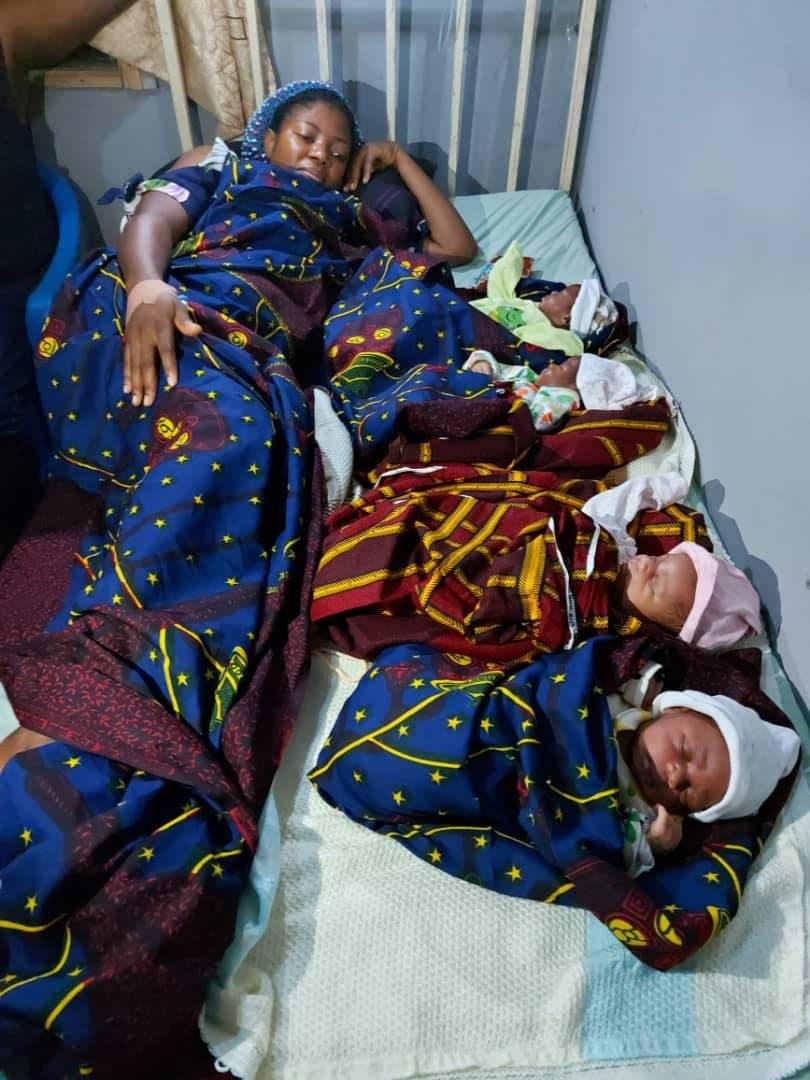 Anambra Couple Welcomes Quadruplets After 16 Years Marriage And Struggling For A Child 3
