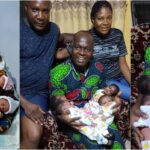 Anambra Couple Welcomes Quadruplets After 16 Years Marriage And Struggling For A Child 28