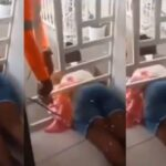Woman Gets Trapped While Sneaking Into The House To Catch Her Cheating Boyfriend [Video] 28