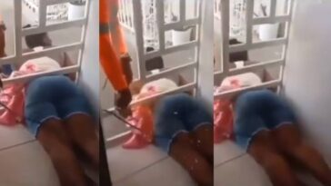 Woman Gets Trapped While Sneaking Into The House To Catch Her Cheating Boyfriend [Video] 9