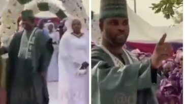 Groom Warns MC To Stop Telling Him To Dance With His 'Sad Bride' At Their Wedding [Video] 6