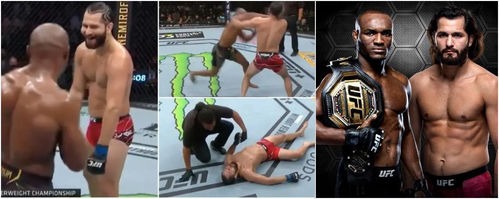 Nigeria's Kamaru Usman Knocks Out Jorge Masvidal To Retain UFC Welterweight Title [Video] 1