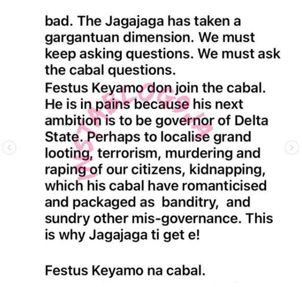 Festus Keyamo And Eedris Abdulkareem Fights Dirty Over 'JagaJaga Reloaded' 9