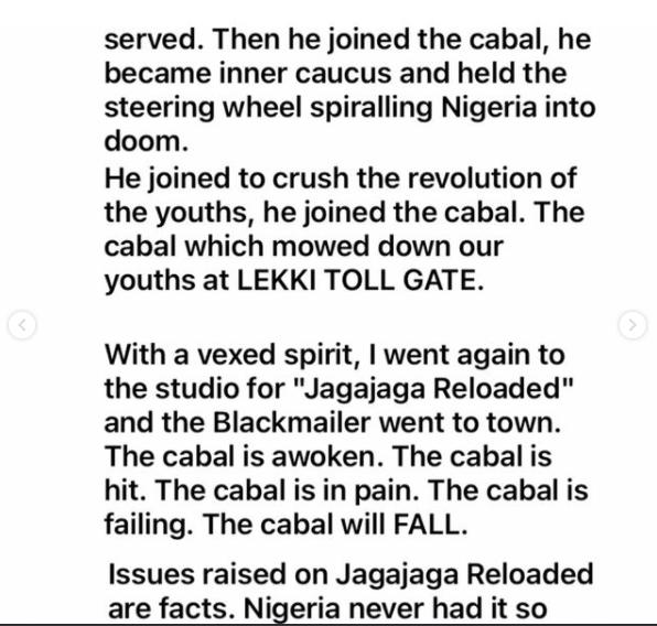 Festus Keyamo And Eedris Abdulkareem Fights Dirty Over 'JagaJaga Reloaded' 8