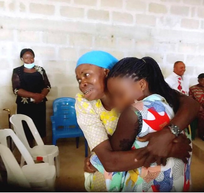 Human Trafficking Victim Reunites With Her Mother In Akwa Ibom After 20 Years [Photos] 2