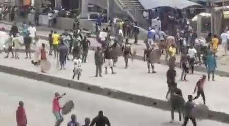 Tribal Clash Between Hausa Okada Riders And Yoruba Youths At Iyana Iba In Lagos [Video] 1
