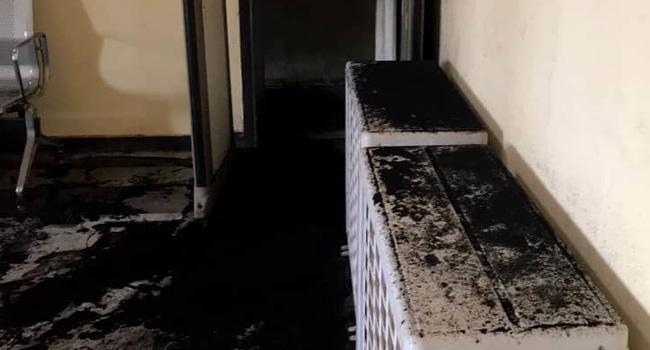 Federal High Court Set Ablaze By Unknown Gunmen In Ebonyi [Photos] 4