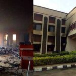Federal High Court Set Ablaze By Unknown Gunmen In Ebonyi [Photos] 27