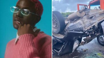 Nigerian Rapper, Victony Involved In Fatal Car Accident, Set To Undergo Major Surgery 2