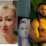 Russian Lady Reveals Why She Tattooed Nigerian Singer Flavour On Her Body [Video] 28