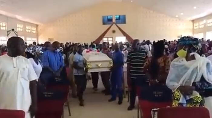 Slain Greenfield University Student, Dorothy Yohanna Buried Amid Tears In Kaduna [Photos] 2