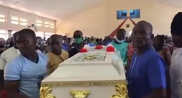 Slain Greenfield University Student, Dorothy Yohanna Buried Amid Tears In Kaduna [Photos] 3