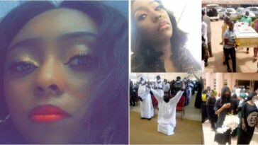 Slain Greenfield University Student, Dorothy Yohanna Buried Amid Tears In Kaduna [Photos] 7