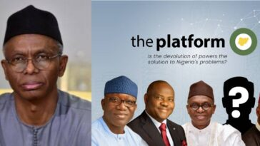 Outrage Among Nigerians As The Platform Invites El-Rufai To Discuss Devolution Of Powers 10
