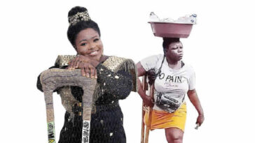 Amputee Hawker Reveals Why She Lied About Her Father's Death To Get Donations From Nigerians 2