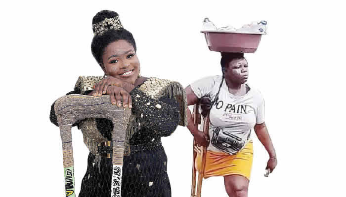 Amputee Hawker Reveals Why She Lied About Her Father's Death To Get Donations From Nigerians 1