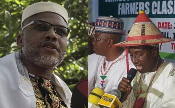 """IPOB Will Go After All Fulani Terrorists Blood For Blood"" - Nnamdi Kanu Replies Miyetti Allah 1"