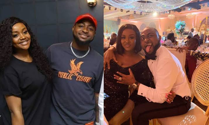 """Nigerians Reacts As Davido Addresses Chioma As """"Mama Ify"""" On His Birthday Wish To Her 1"""