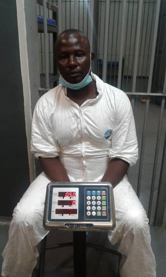 Nigerian Drug Trafficker Excretes 97 Wraps Of Cocaine Worth N360m At Lagos Airport [Photos] 3