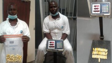 Nigerian Drug Trafficker Excretes 97 Wraps Of Cocaine Worth N360m At Lagos Airport [Photos] 4