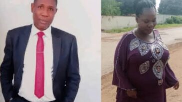 Pastor Folayemi Richard Beats His Pregnant Wife To Coma 3 Months After Their Wedding 2
