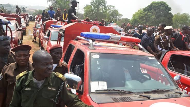 Amotekun Arrests 45 Fulani Youths Loaded In A Trailer Going For 'Military Training' In Ondo 1