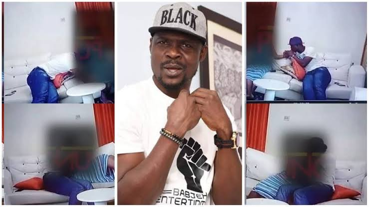 CCTV Footage Shows Nollywood Actor Baba Ijesha Molesting 14-Year-Old Girl [Watch Video] 1