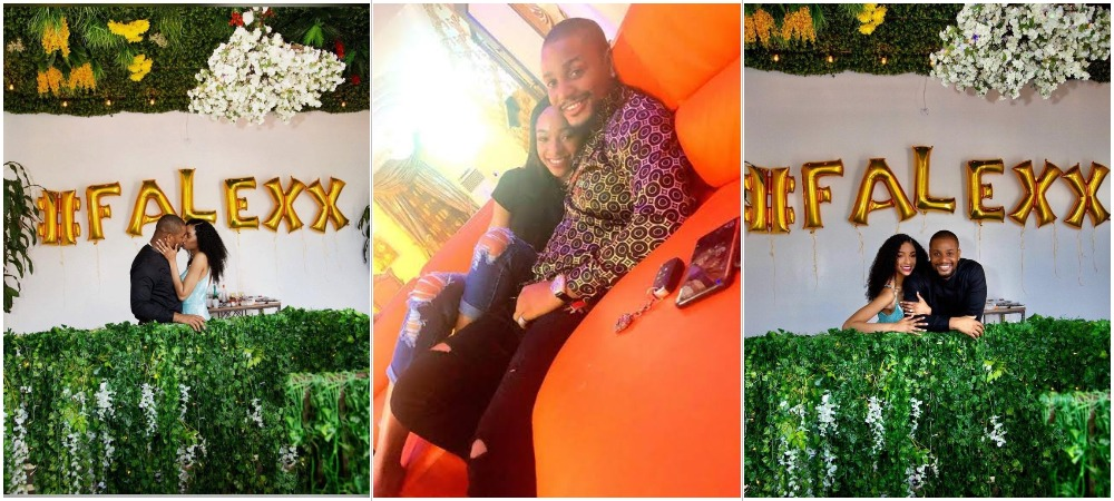Actor Alexx Ekubo Proposes To His Longtime Girlfriend Fancy Acholonu In United States 1