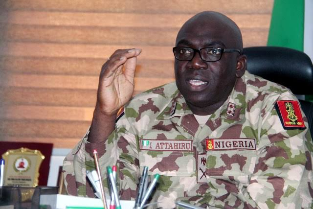 Nigerian Military Rejects Call To Take Over Power, Pledges Loyalty To Buhari's Government 1