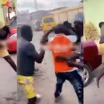 Two MCs Caught On Camera Fighting Publicly Over Who Will Hype An Event In Lagos [Video] 27