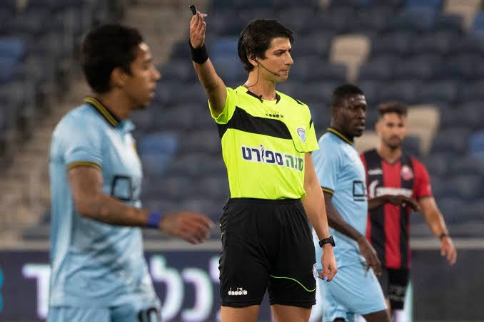 History Made As Sapir Berman Becomes First Transgender To Officiate Football Match In Israel 3