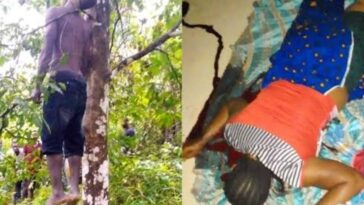 Jobless Man Commits Suicide After Killing His Wife For Denying Him Sεx 13