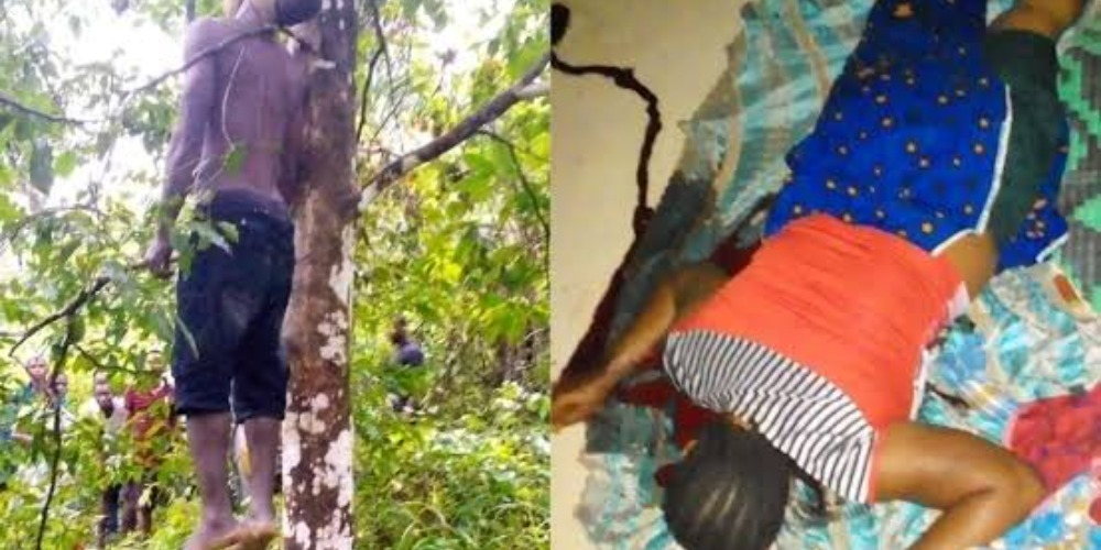 Jobless Man Commits Suicide After Killing His Wife For Denying Him Sεx 1