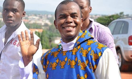Enugu Residents Jubilates As Father Mbaka Reappears After He Was Declared Missing 1