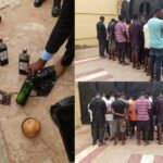 EFCC Arrests 30 Suspected Yahoo Boys In Ilorin, Rocovers 10 Exotic Cars And Charms 7
