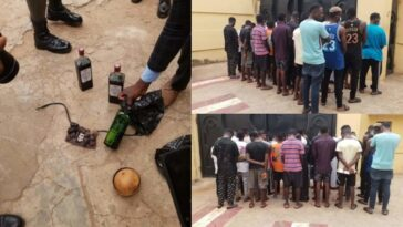 EFCC Arrests 30 Suspected Yahoo Boys In Ilorin, Rocovers 10 Exotic Cars And Charms 3
