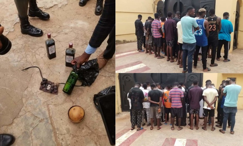 EFCC Arrests 30 Suspected Yahoo Boys In Ilorin, Rocovers 10 Exotic Cars And Charms 1