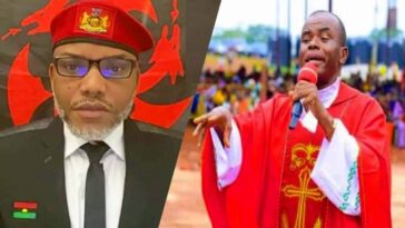 Enugu Bishop Wanted To Detain Me For 30-Days Because Of Nnamdi Kanu — Father Mbaka 12