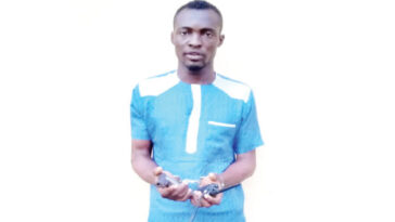 Police Arrests Man For Threatening To Kill A Woman At Gun Point Inside Lagos Mosque 10