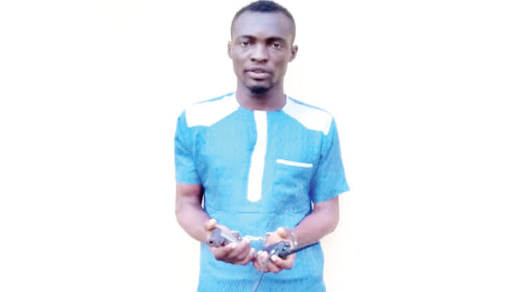 Police Arrests Man For Threatening To Kill A Woman At Gun Point Inside Lagos Mosque 1