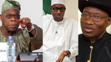 Buhari, Jonathan Are Foolish For Paying Ransom To Kidnappers And Denying It - Obasanjo 2