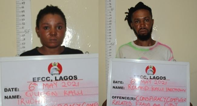 EFCC Arrests Two Siblings For Alleged Internet Fraud In Lagos 1